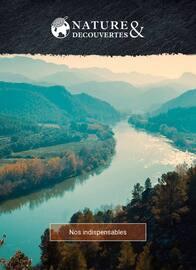 Catalogue Nature & Découvertes en cours, Nos indispensables, Page 1