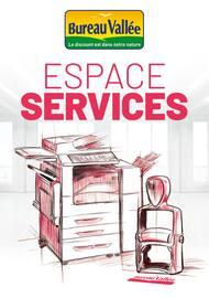 Catalogue Bureau Vallée en cours, Espace Services, Page 1