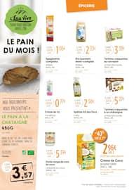 Catalogue L'Eau Vive en cours, Cet automne, faites vous du Bio !, Page 4