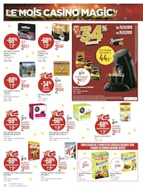 Catalogue Géant Casino en cours, Le mois Casino Magic !!, Page 34