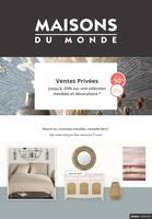 Catalogue Maisons du Monde en cours, Ventes privées, Page 1