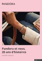 Catalogue Pandora en cours, Pandora et vous, 20 ans d'histoires, Page 1