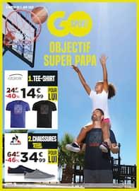 Catalogue Go Sport en cours, Objectif super papa, Page 1