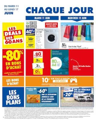 Catalogue Carrefour en cours, 60 ans ! Anniversaire !, Page 2