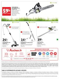 Catalogue Auchan en cours, Les petits bonheurs extérieurs, Page 7