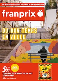 Catalogue Franprix en cours, Du bon temps en ville, Page 1