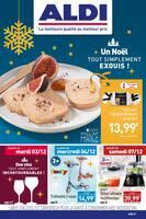 Catalogue Aldi en cours, Un Noël tout simplement exquis !, Page 1