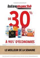 Catalogue Intermarché en cours, De 30% à 90% d'économies, Page 1
