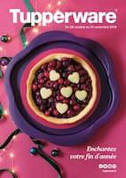 Catalogue Tupperware en cours, Enchantez votre fin d'année, Page 1