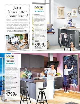Aktueller porta Möbel Prospekt, Aktuelle Angebote, Seite 36