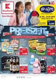 Kaufland, Die neue Preiszeit ist da! für Leipzig