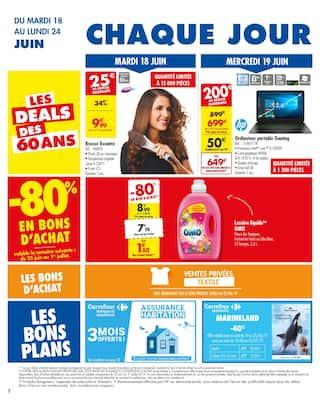 Catalogue Carrefour en cours, Dernière semaine encore moins chère !, Page 2