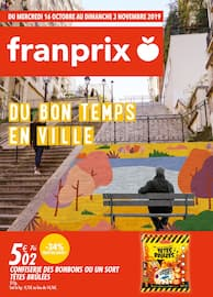 Catalogue Franprix en cours, Du bon temps en ville, Page 1