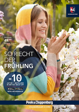 Aktueller Peek&Cloppenburg Prospekt, So riecht der Frühling, Seite 1