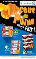 Catalogue E.Leclerc en cours, Coup de poing sur les prix !, Page 1