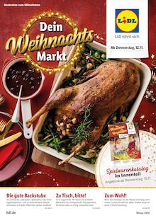 Lidl Prospekt Dein Weihnachtsmarkt