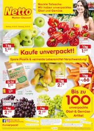 Aktueller Netto Marken-Discount Prospekt, Kaufe unverpackt!, Seite 1