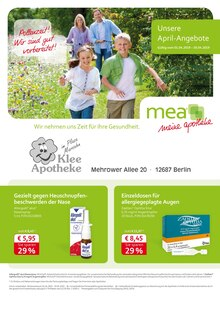 mea - meine apotheke - Unsere April-Angebote