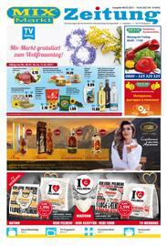 Aktueller Mix Markt Prospekt, Markenwochen, Seite 1