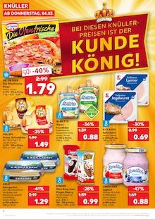 Kaufland Butter im Prospekt BEI DIESEN KNÜLLER-PREISEN IST DER KUNDE KÖNIG!