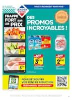 Catalogue Leader Price en cours, Des Promos incroyables !, Page 1
