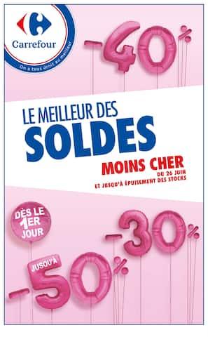 Catalogue Carrefour en cours, Le meilleur des soldes moins cher !, Page 1
