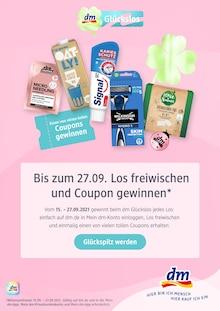 dm-drogerie markt Prospekt mit 1 Seite (Augsburg)