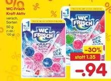 Reinigungsmittel von WC-Frisch im aktuellen Netto Marken-Discount Prospekt für 0.94€