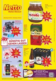 Netto Marken-Discount, GÜNSTIG GUT GEHEN LASSEN für Erfurt