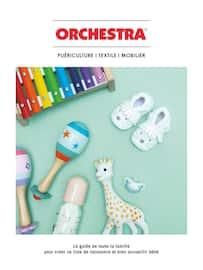Catalogue Orchestra en cours, Puériculture | Textile | Mobilier, Page 1