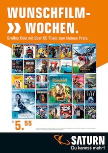 Saturn, WUNSCHFILM- >> WOCHEN. für Bremen