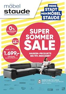 Möbel Staude - Super Sommer Sale