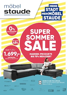 Möbel Staude - Super Sommer Sale