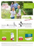 Aktueller mea - meine apotheke Prospekt, Unsere April-Angebote , Seite 1