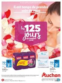 Catalogue Auchan en cours, Les 125 jours qui changent la vie, Page 1