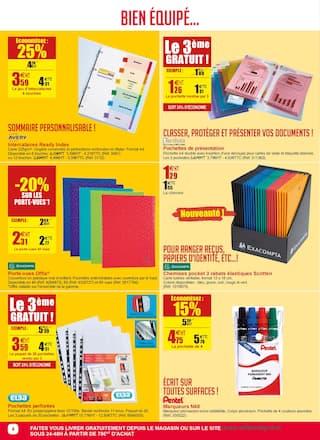Catalogue Office DEPOT en cours, Une année d'Office bien équipée ! Tout en promos !, Page 4