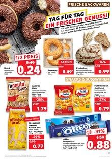 Brot im Kaufland Prospekt KNÜLLER auf S. 25