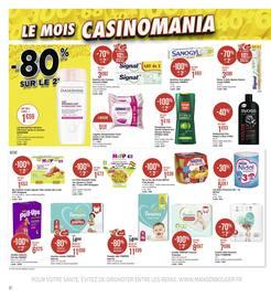 Catalogue Géant Casino en cours, Le mois Casinomania, Page 22