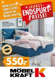 Aktueller Möbel Kraft Prospekt, Jahres-Endspurt-Preise , Seite 1