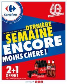 Catalogue Carrefour en cours, Dernière semaine encore moins chère !, Page 1