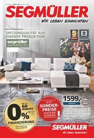 Aktueller Segmüller Prospekt, Segmüller - Starke Marken, Seite 1