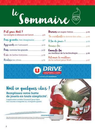 Catalogue Super U en cours, Ouvre grand les yeux le Père Noël arrive, Page 2