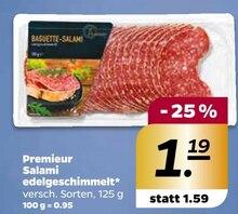 Wurst von Premieur im aktuellen NETTO mit dem Scottie Prospekt für 1.19€