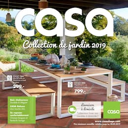 Catalogue Casa en cours, Collection de jardin 2019, Page 1