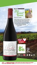 Catalogue Carrefour Market en cours, La seule foire aux vins notée par la revue du vin de France, Page 11