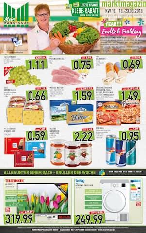 Aktueller Marktkauf Prospekt, marktmagazin, Seite 1