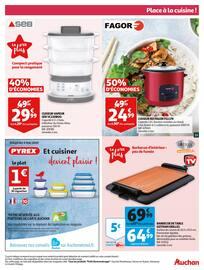 Catalogue Auchan en cours, L'escalope de veau à la crème responsible de Pierre., Page 13