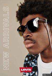 "Levi's Catalogue ""New arrivals"", 11 pages, Livry-Gargan,  11/09/2021 - 12/11/2021"