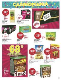 Catalogue Géant Casino en cours, 6 semaines de fête et de promos !, Page 13