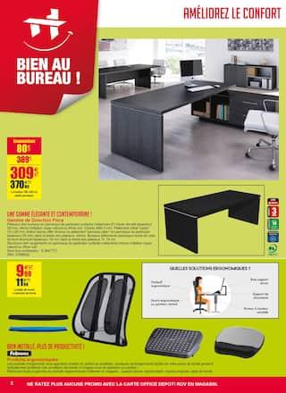 Catalogue Office DEPOT en cours, Promos mobilier, fournitures ! Soyez bien au bureau !, Page 2